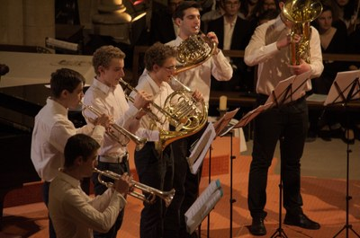Concert des élèves 2016 à Ginette