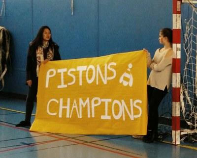 Volley-Ball: Une victoire historique pour les Pistons II